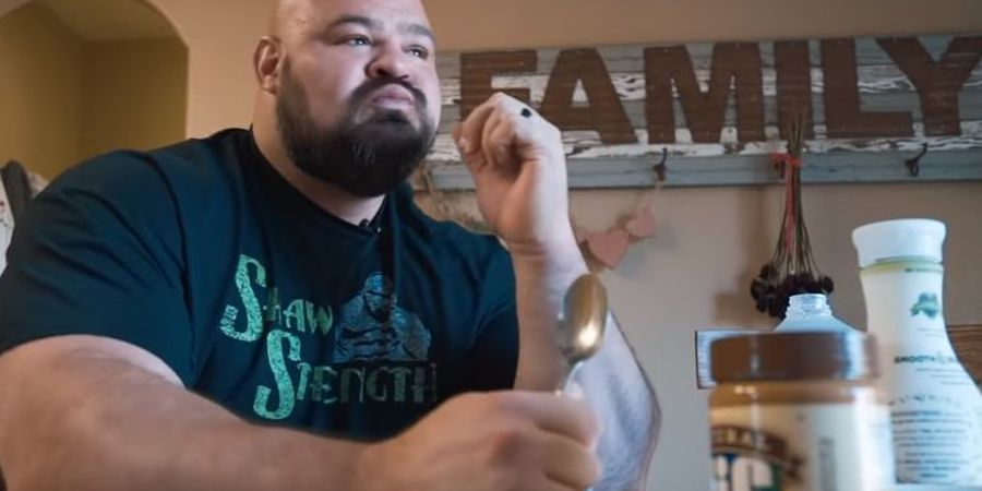 VIDEO Rezim Diet Atlet World's Strongest Man, Sarapan 8 Telor dan 7 Kali Makan Sehari!
