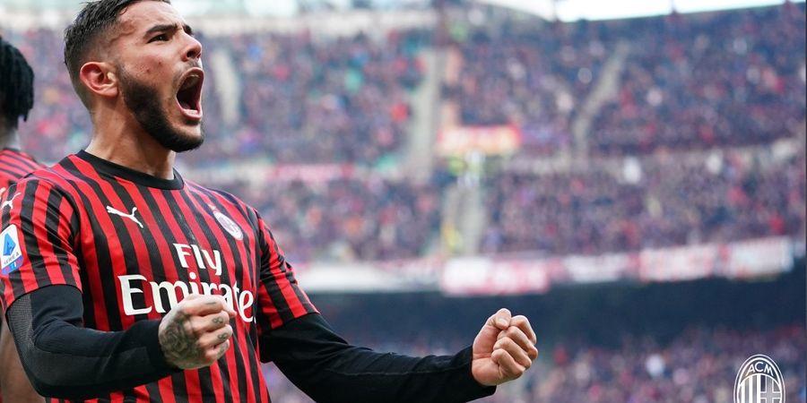 Hasil Babak I - Gol Theo Hernandez Disamakan Giovanni Di Lorenzo