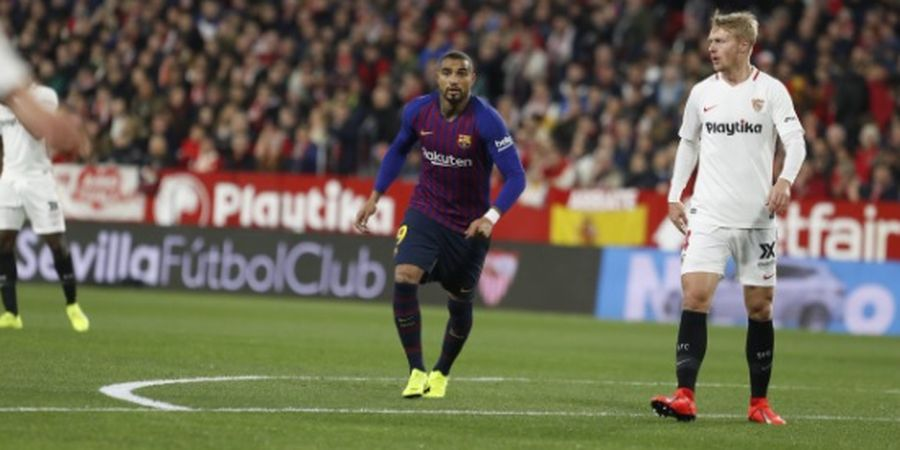 Setelah Debut, Kevin-Prince Boateng  Bak 'Hilang' dari Barcelona