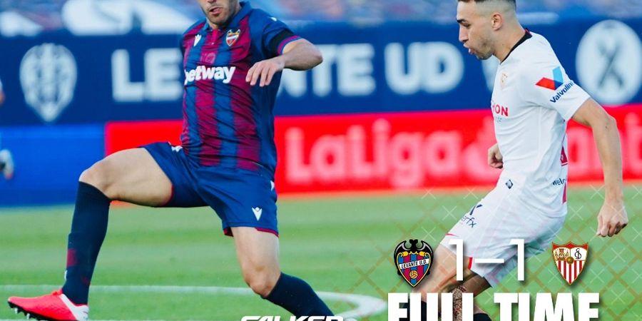 Hasil dan Klasemen Liga Spanyol - Gol Bunuh Diri Buat Sevilla Gagal Dekati Real Madrid