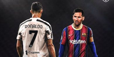 Masih Positif COVID-19, Duel Cristiano Ronaldo Vs Lionel Messi Batal
