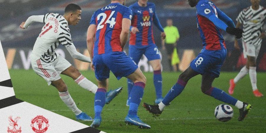 Meski Imbang, Rekor Manchester United di Markas Crystal Palace Masih Terjaga