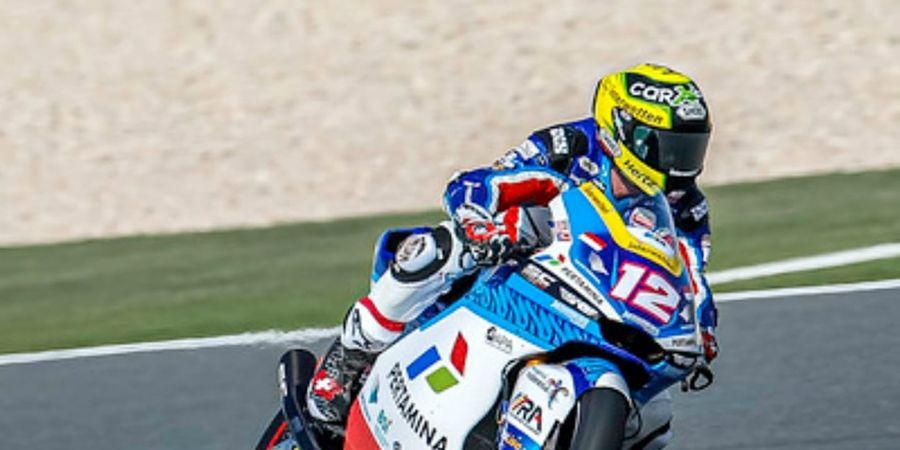 Hasil Kualifikasi Moto2 Portugal 2021 -  Duo Pertamina Mandalika SAG Start dari Posisi Ini