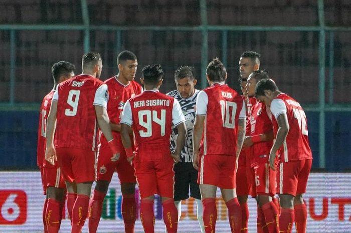 Skuad Persija Jakarta di Piala Menpora 2021.