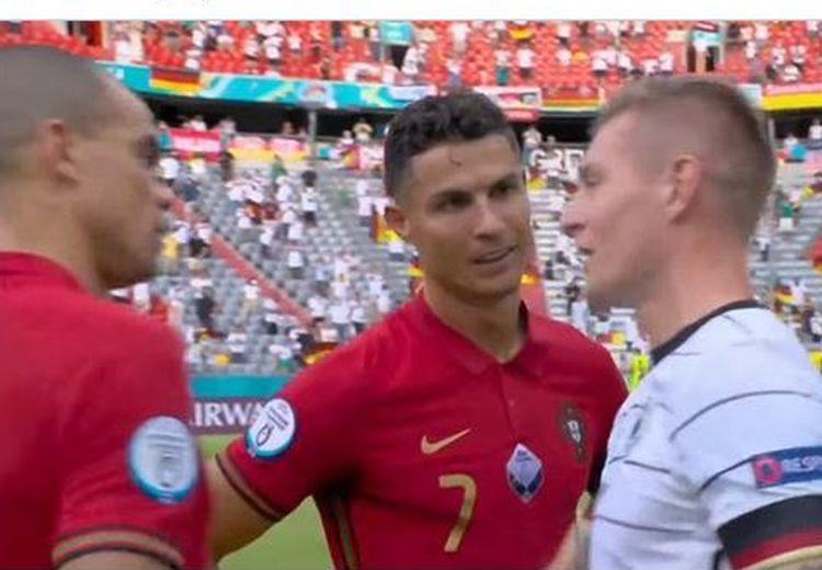 Toni Kroos Ungkap Isi Obrolan dengan Ronaldo Hingga Sisi Lain Pepe Usai Jerman Permalukan Portugal di Euro 2020