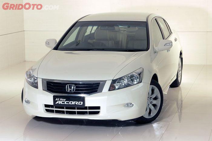 Honda Accord generasi kedelapan mulai hadir tahun 2008