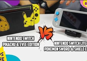 Unboxing dan Review Nintendo Switch Lite Pokemon Sword and Shield Edition