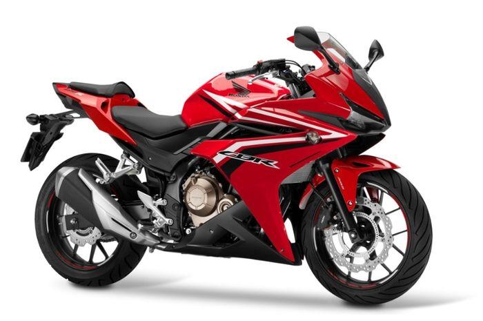 Desain fascia CBR500R dipakai sebagai fascia CBR150R Thailand oleh Mich Motorcycle