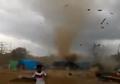 Pasca Diguncang Gempa, Kamis (16/8) Lombok Kembali Dilanda Bencana Puting Beliung