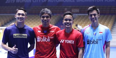 PBSI Home Tournament - Anthony Ginting, Jonatan Christie, dan Shesar Hiren Diprediksi Akan Kuasai Final
