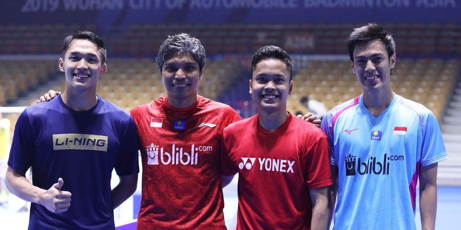 PBSI Home Tournament - Anthony Ginting, Jonatan Christie, dan Shesar Hiren Diprediksi Akan Kuasai Final