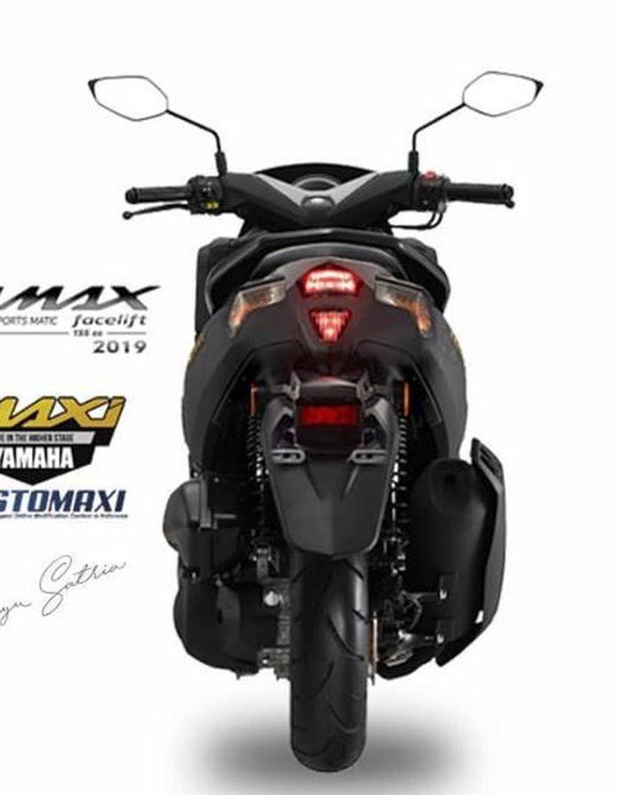 Rendering Yamaha NMAX 2019