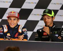 Live Streaming MotoGP Portugal 2021 - Fisik Marquez Bermasalah, Rossi Harap-harap Cemas