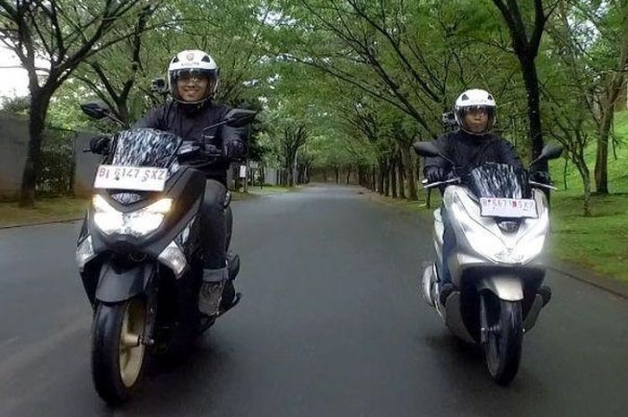 Yamaha NMAX dan Honda All New PCX