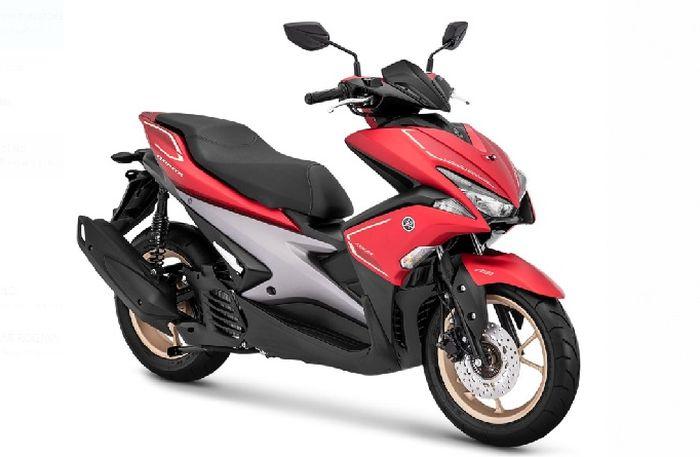 Yamaha Aerox S Warna Merah