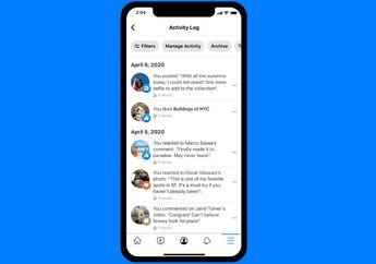 Facebook Luncurkan Fitur Baru, Hapus Unggahan Kini Jadi Lebih Mudah