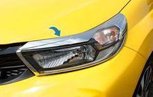 Cover Headlamp Krom Bikin All New Brio Tambah Elegan