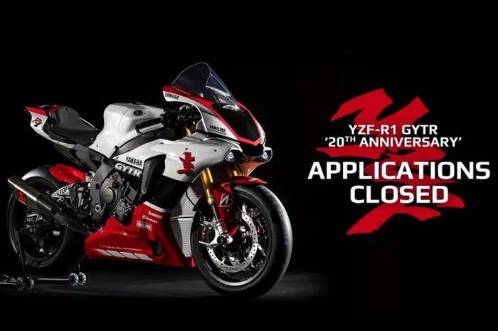Yamaha YZF-R1M GYTR sudah sold out