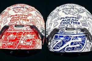 Alex dan Marc Marquez Bakal Gunakan Helm Khusus sebagai Dukungan Lawan COVID-19