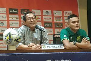 Pelatih Persebaya Surabaya Ingatkan Para Pemain Tak Anggap Sebelah Mata Persik Kediri
