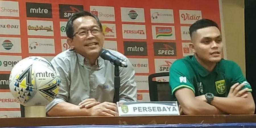 Pelatih Persebaya Surabaya Aji Santoso Puji Aksi Sosial yang Dilakukan Pemainnya
