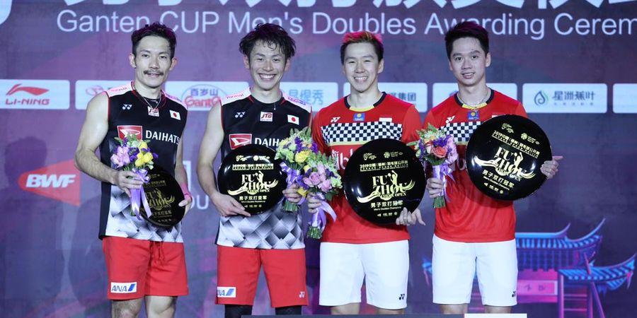 JuaraLagi, Marcus/Kevin Raup Hadiah Segini dari Fuzhou China Open 2019