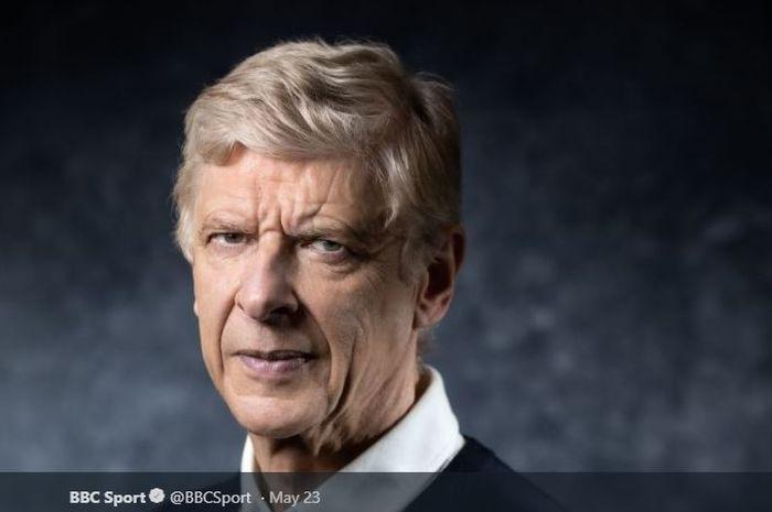 Pelatih legendaris Arsenal, Arsene Wenger.