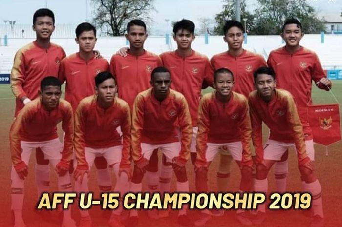 Timnas U-15 Indonesia berlaga di Piala AFF U-15 2019.
