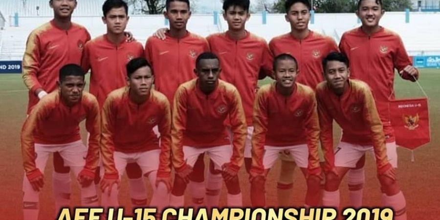 Jadwal Semifinal Piala AFF U-15 2019 - Indonesia Menanti Lawan