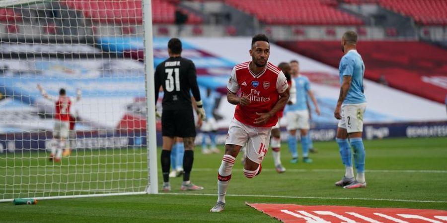 Tunggu Lamaran Barcelona, Aubameyang Tunda Kontrak Baru di Arsenal