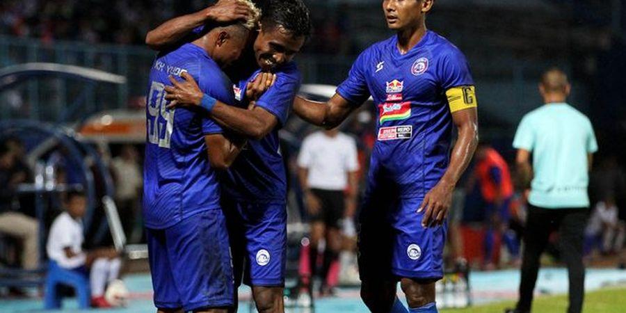 Dihukum Denda Rp100 Juta, Begini Respons Arema FC