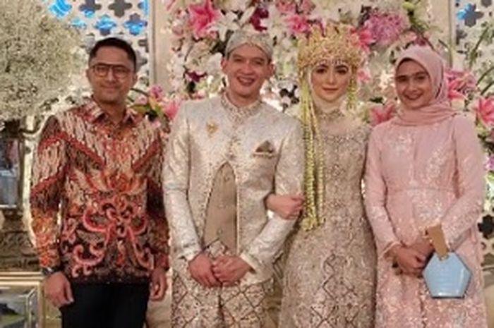 Hengky Kurniawan di pernikahan Vita Kirana dan Rezky