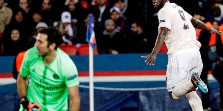 Romelu Lukaku Hibur Kimpembe Usai Laga Kontra Paris Saint-Germain