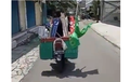 Pakai Honda Supra Fit, Video Panwascam Tertibkan APK di Kecamatan Kartasura, Totalitas!