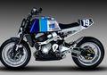 Kawasaki Z800 Cover Body Semua Dari Pelat Bikin Melongo Semua Orang