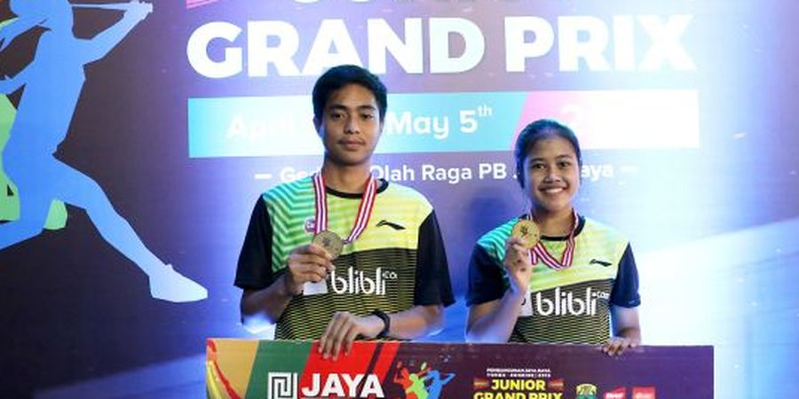 Indonesia Raih Gelar Terbanyak pada Jaya Raya Junior GP Gold 2019