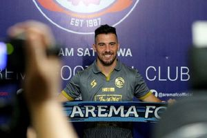 Meski Telah Pergi, Jonathan Bauman Tak Lupa dengan HUT Arema FC