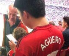 Fakta Sebenarnya di Balik Jersey Manchester United Bernama Aguero Milik Seorang Fan