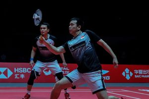 Hasil BWF World Tour Finals 2019 - Takluk dari Duo Taiwan, Ahsan/Hendra Huni Posisi Runner Up Grup B