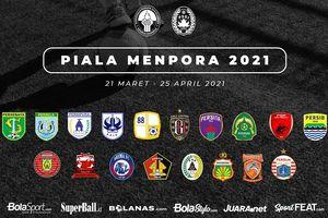 Piala Menpora 2021 - Susunan Pemain Persija Jakarta vs Barito Putera