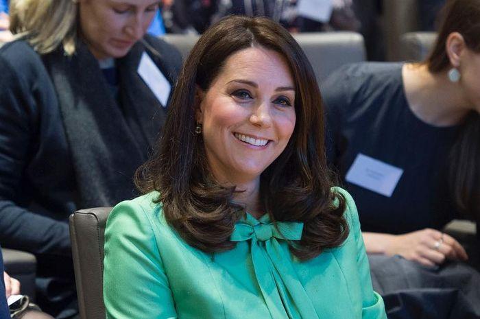 The Duchess of Cambridge, Kate Middleton saat menghadiri Simposium