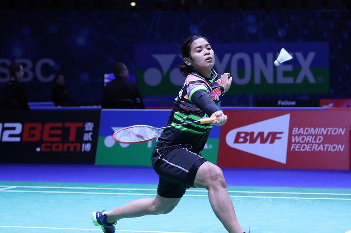Pebulu tangkis tunggal putri Indonesia, Gregoria Mariska Tunjung, berhasil melaju ke babak kedua Kejuaraan Asia 2019.