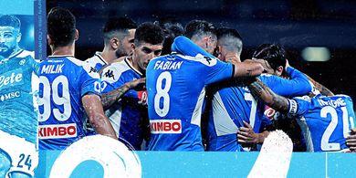 Hasil Liga Italia - Menang 2-1, Napoli Usik Posisi AS Roma di 5 Besar