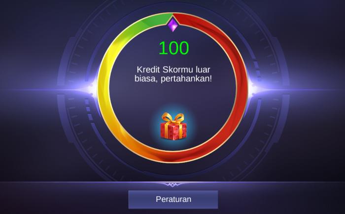 Score Credit Mobile Legends