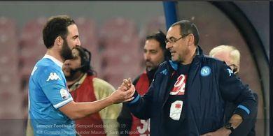 Gonzalo Higuain dan Maurizio Sarri 'Dicoret' dari Sejarah Napoli