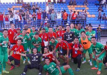 Cetak Gol Debut, Ezechiel Bawa Bhayangkara FC Juara Turnamen Pramusim