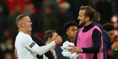 Harry Kane Pede Bisa Salip Rekor Wayne Rooney di Timnas Inggris