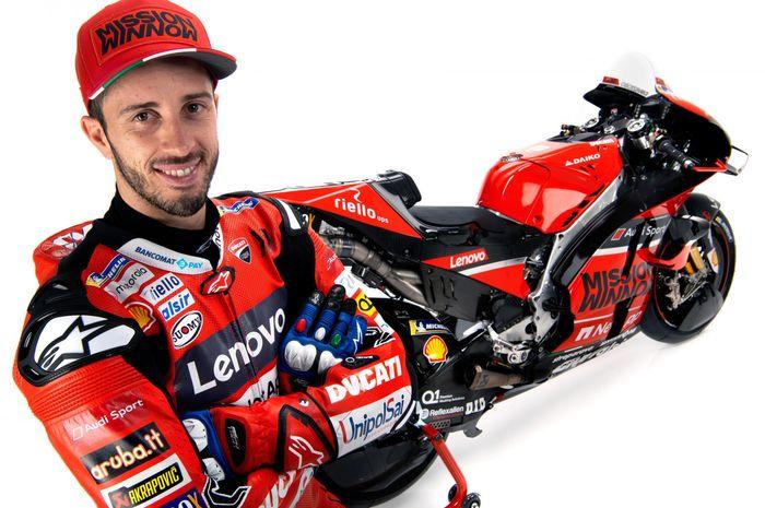 Ducati dikabarkan incar pembalap muda untuk MotoGP 2021, Andrea Dovizioso mengaku tidak merasa cemas