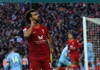 Man United Vs Liverpool - Tak Cuma Bikin Gol, Salah Punya Ambisi Lain