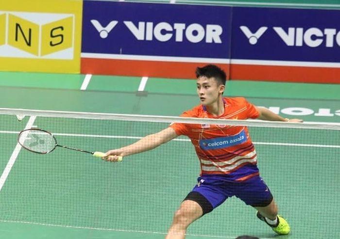 Pemain tunggal putra Malaysia, Lim Chong King.
